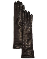 Bloomingdale's - Cashmere Lined Studded Long Gloves - Lyst