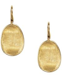 Marco Bicego - 18k Yellow Gold Lunaria Drop Earrings - Lyst