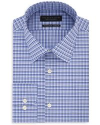 Bloomingdale's - Checked Regular Fit Dress Shirt - Lyst