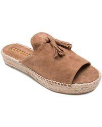 Andre Assous - Women's Cameron Suede Espadrille Platform Sandals - Lyst