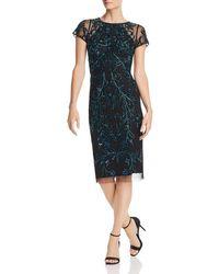 Aidan Mattox - Embellished Cocktail Dress - Lyst