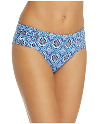 Tommy Bahama - Tika Tiles Reversible Shirred Hipster Bikini Bottom - Lyst