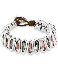 Uno De 50 - Follow You Bracelet - Lyst