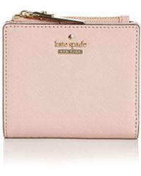 645362583aae7 kate spade new york · Kate Spade - Cameron Street Adalyn Saffiano Leather  Wallet - Lyst