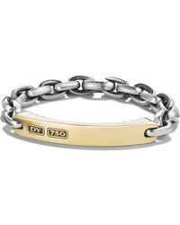 David Yurman - Streamline Bracelet With 18k Gold - Lyst