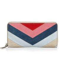 Rebecca Minkoff - Leather Continental Zip Wallet - Lyst
