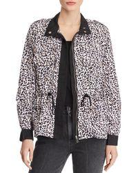 9e063ef727604 Aqua Faux Fur - Trim Puffer Jacket in Black - Lyst