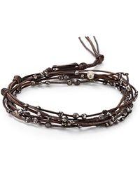 Chan Luu | Beaded Wrap Bracelet | Lyst