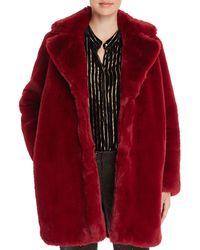 Mkt Studio - Marili Faux Fur Coat - Lyst
