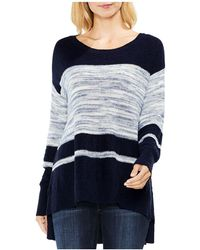 Vince Camuto | Color Block Space Dye Sweater | Lyst