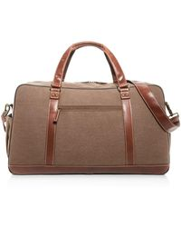 b06fd7ac8b5a Michael Kors Bryant Pebbled Leather Large Duffel Bag in Brown for ...