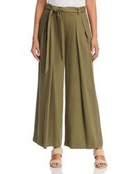 Eileen Fisher - Pleated Wide - Leg Pants - Lyst