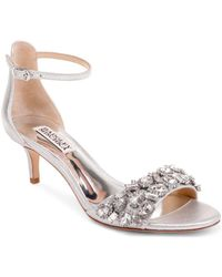 fd72596e236 Badgley Mischka - Women s Lara Ii Embellished High-heel Sandals - Lyst