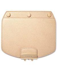 Furla - Metropolis Mini Interchangeable Leather Crossbody Flap - Lyst