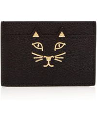 Charlotte Olympia | Feline Leather Card Case | Lyst