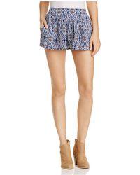 PPLA - Astoria Printed Shorts - Lyst
