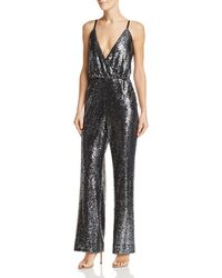 d523da76f05 Lyst - Laundry by Shelli Segal One-shoulder Jumpsuit in Black