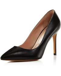 Charles David - Genesis Leather Pointed Toe High-heel Court Shoes - Lyst