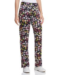 Equipment - Florence Printed Silk Trousers - Lyst