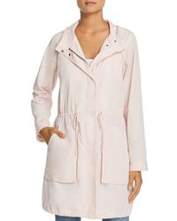 Kenneth Cole - Hooded Drawstring Anorak - Lyst