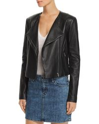 VEDA - Dali Classic Orion Leather Jacket - Lyst