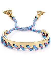 Rebecca Minkoff | Whipstitch Wrap Bracelet | Lyst