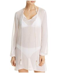 Macbeth Collection - Tunic Swim Cover-up - Lyst