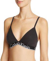 429a19c026da6c Calvin Klein 205W39Nyc Modern Cotton Unlined Racerback Triangle ...