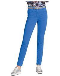 Basler - Skinny Jeans In Royal Blue - Lyst