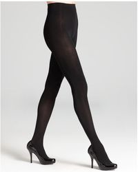 Donna Karan - Evolution Opaque Tights - Lyst