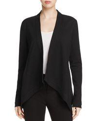 Donna Karan - Flyaway Open Front Jacket - Lyst