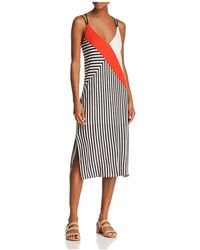 Splendid - X Margherita Color-block Striped Slip Dress - Lyst