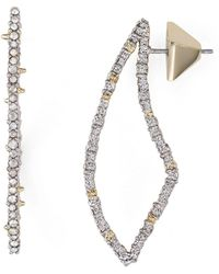 Alexis Bittar - Swarovski Crystal-encrusted Abstract Thorn Drop Earrings - Lyst