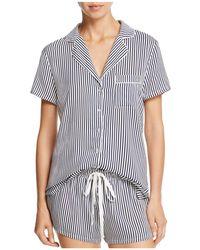 Splendid - Intimates Piped Short Pajama Set - Lyst
