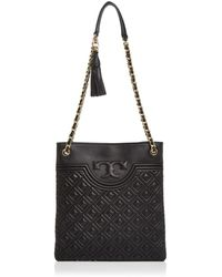 Tory Burch - Fleming Quilted Leather Swingpack - Lyst