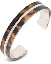 Ralph Lauren - Lauren Tortoise Cuff Bracelet - Lyst
