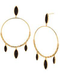 Gorjana - Palisades Loop Drop Earrings - Lyst
