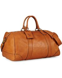 Ralph Lauren - Polo Core Leather Duffel Bag - Lyst