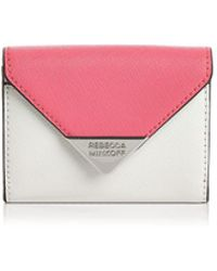 Rebecca Minkoff - Molly Metro Leather Card Case - Lyst