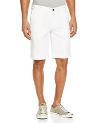 AG Green Label - Canyon Straight Leg Shorts - Lyst