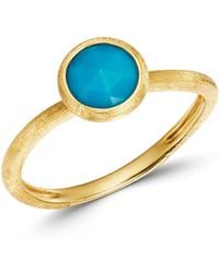 Marco Bicego - 18k Yellow Gold Jaipur Color Turquoise Ring - Lyst