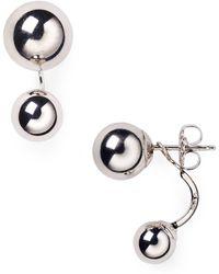 Bloomingdale's - Sterling Silver Ear Jackets - Lyst