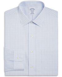 Brooks Brothers - Regent Split Double Window Check Classic Fit Dress Shirt - Lyst