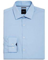 W.r.k. - Solid Stretch Slim Fit Dress Shirt - Lyst