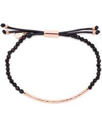 Gorjana - Rose Gold-tone Beaded Bracelet - Lyst