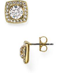 Nadri | Swarovski Crystal Stud Earrings | Lyst