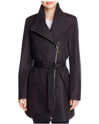 CALVIN KLEIN 205W39NYC - Asymmetric Front Zip Trench Coat - Lyst