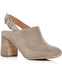 Gentle Souls - Women's Tami Suede Slingback Court Shoes - Lyst