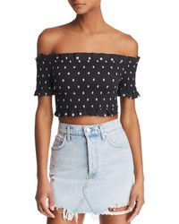 The Fifth Label - Fiesta Off-the-shoulder Top - Lyst