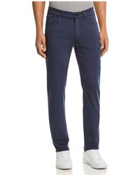 7 For All Mankind - Slimmy Luxe Sport Slim Fit Jeans In Indigo Dust - Lyst